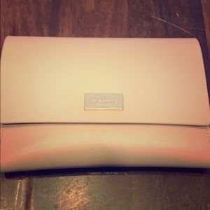 """Kate Spade taupe wallet. Like new! 6""""X4"""""""